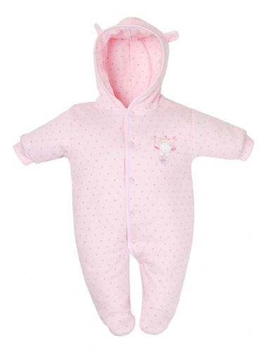 AV1873P Tiny Bear Cotton Pram Suit